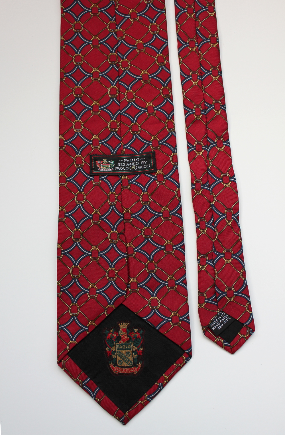 Sold Paolo By Paolo Gucci Vintage Tie Chuck Dodson Fashion